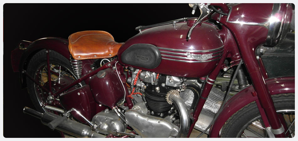 Triumph Speed Tween 1952